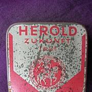 HEROLD Zukunft German Gramophone Needles Tin
