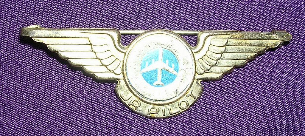Vintage National Airlines Junior Pilot Wings