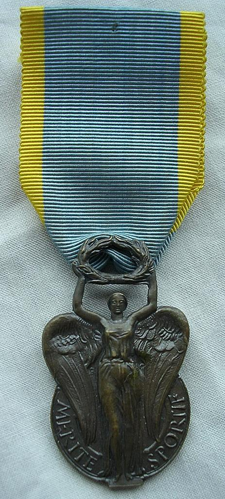 Vintage French Sports Medal Republique Francaise