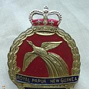 Vintage 'Royal Papua New Guinea Constabulary' Badge