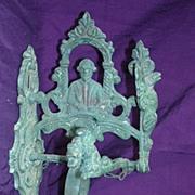 Victorian Cast Bronze Baroque Entrance Bell