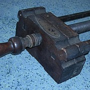Old Wooden Colonial Book Press