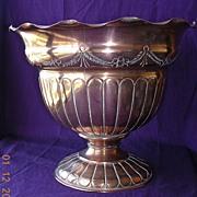 Victorian Art Nouveau Copper Jardiniere