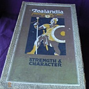 ZEALANDIA Brand Art Deco Shoe Box 1930's