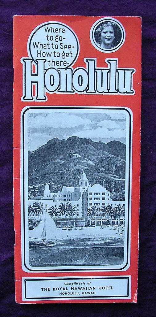 Vintage 1948 Honolulu Guide
