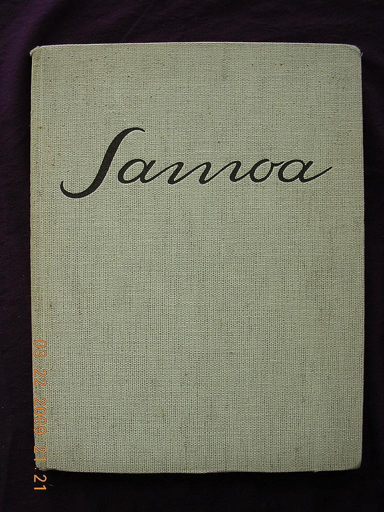 SAMOA First Edition1926 Eric Scheurmann