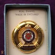 H.M.Y. Britannia Enamel on Metal Souvenir Badge