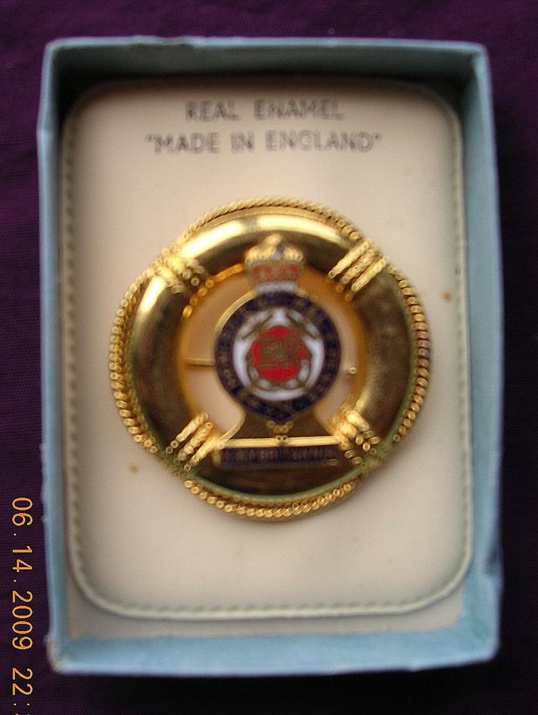 H.M.Y. Britannia Enamel on Metal Souvenir Badge