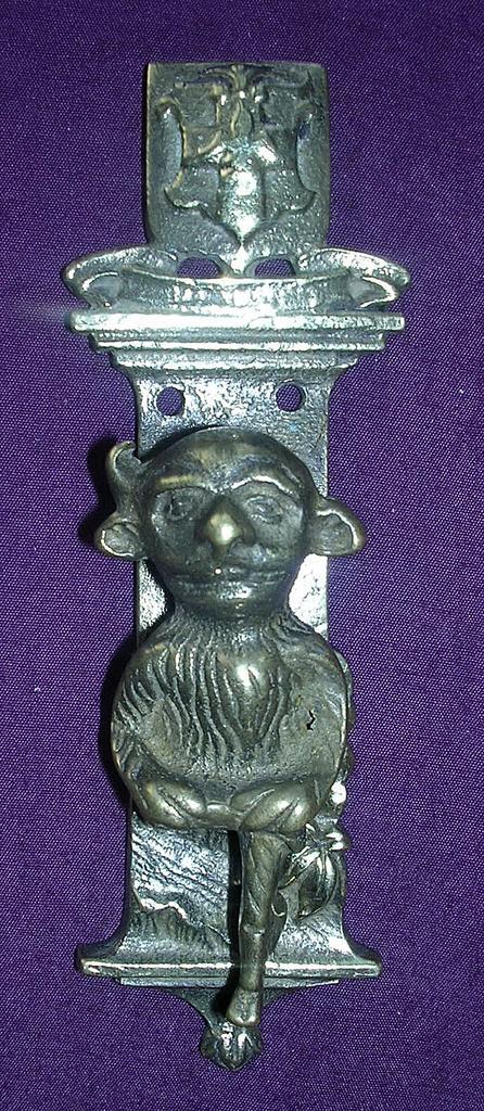 Old LINCOLN IMP Brass Door Knocker