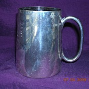 Victorian Half Pint Tankard 'Bradfield College' Swimming Presentation Trophy
