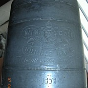 James Dixon Pewter Tankard 'Winchester College' Presentation Trophy 1873