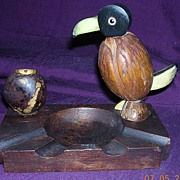 Rare Art Deco DODO Bird Ashtray Circa 1930's