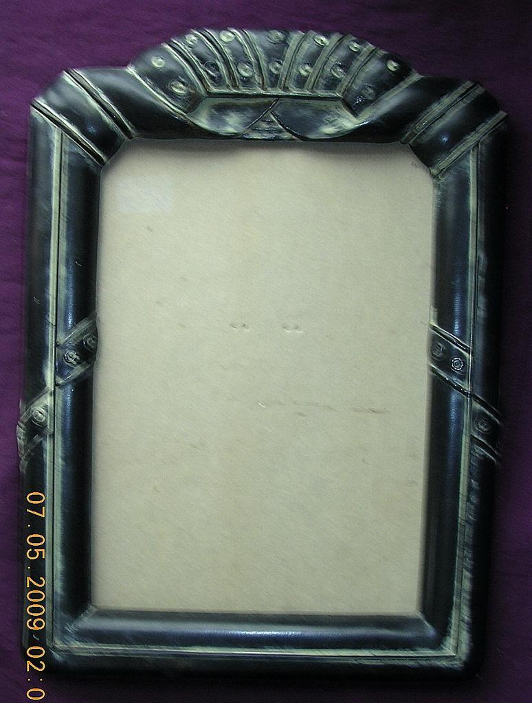 fabulous art deco bakelite picture frame circa 1930s