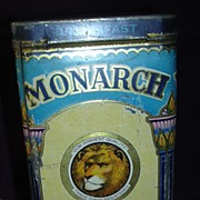 Vintage MONARCH Brand Cocoa Tin