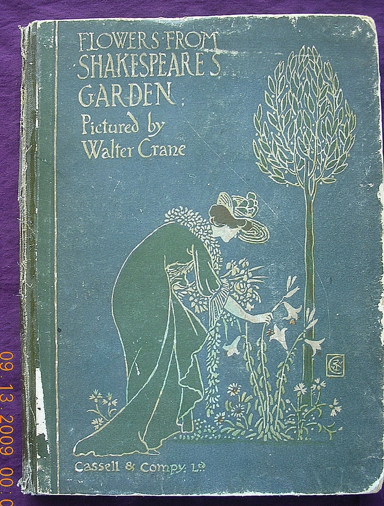 Beautiful 'Flowers From Shakespeare's Garden' First Edition 1906