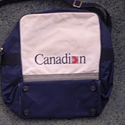 Vintage Canadian Airlines Cabin Bag