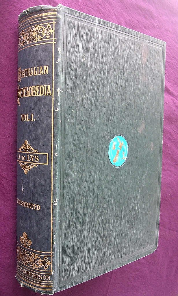 Vintage Books 'The Australian Encyclopedia Volumes 1 & 2' 1925 & 1926