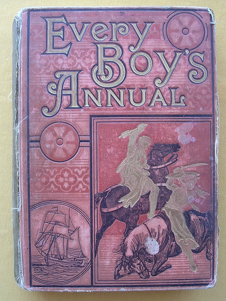 1885 Victorian Boys Adventure Stories ' Every Boys Annual'