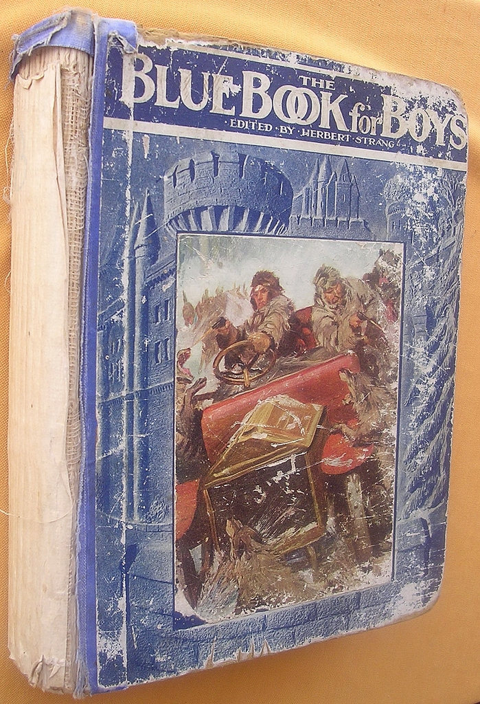 Edwardian Period 'The Blue Book For Boys'
