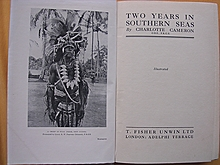 First Edition 1923 'Two Years In Southern Seas' Pacific Islands Adventure