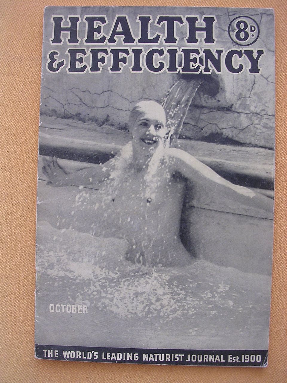 Vintage 1941 'Health & Efficiency' English Nudist Magazine