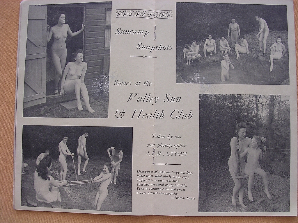 Vintage Nudist Picture 18