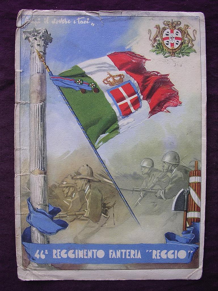 Italian FASCIST PARTY Propaganda Post Card Circa 1939