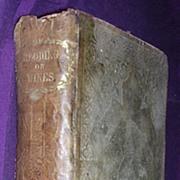 1860 3rd Edition 'A History & Description of Modern Wines - CYRUS REDDING