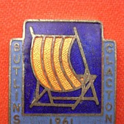 1961 Butlins CLACTON Camp Badge