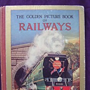 The Golden Picture Book of RAILWAYS 1955