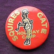 A Tin Camp Badge From 'SQUIRES Gate Holiday Camp'