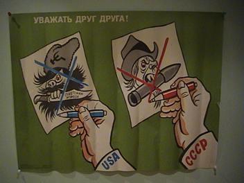 1983 Soviet Russia Propaganda Poster