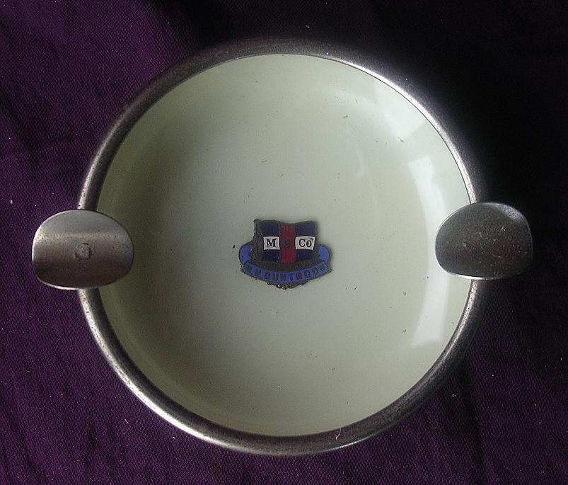 M.V. Duntroon Souvenir Ashtray - Melbourne Steamship Co