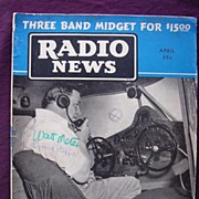 Radio News Magazine April 1939