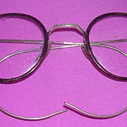 Victorian Oval Spectacles