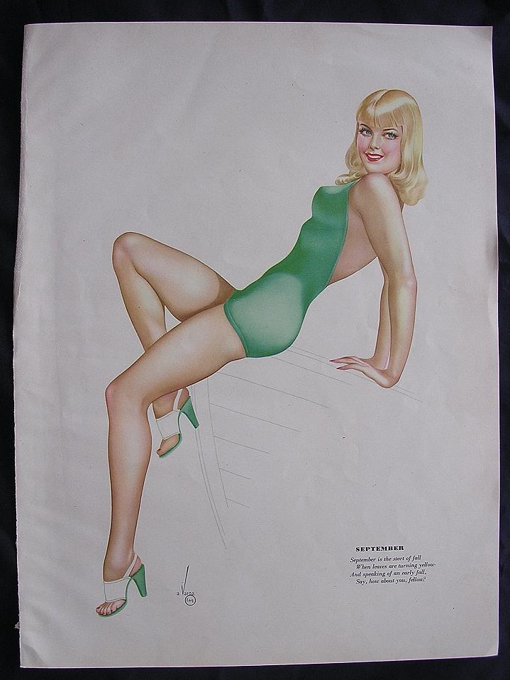 VARGA PIN-UP Girl  - Esquire Magazine 1944