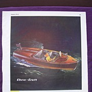 Esquire 1944 CHRIS - CRAFT WW2 Advert 'Buy U.S. War Bonds Today'