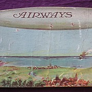 English AIRSHIP R-37 Promotional Book ' AIRWAYS' Circa 1920