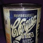 Vintage CHOYSA Tea 2lb Tin