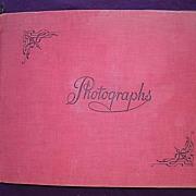 Very Old Album of Matchbox Lids