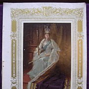 Coronation Of King George V & Queen Mary - Plate 111 QUEEN MARY