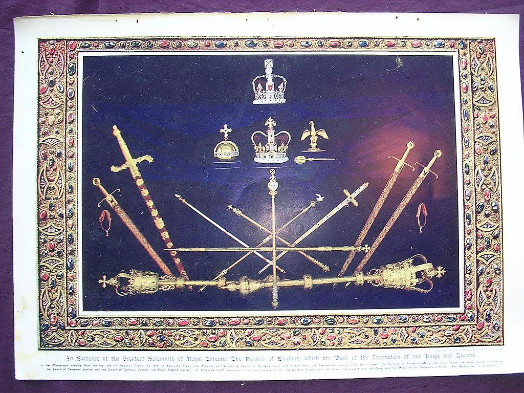 Coronation Of King George V & Queen Mary - Plate X In Evidence At The Greatest Solemnity Of Royal Careers