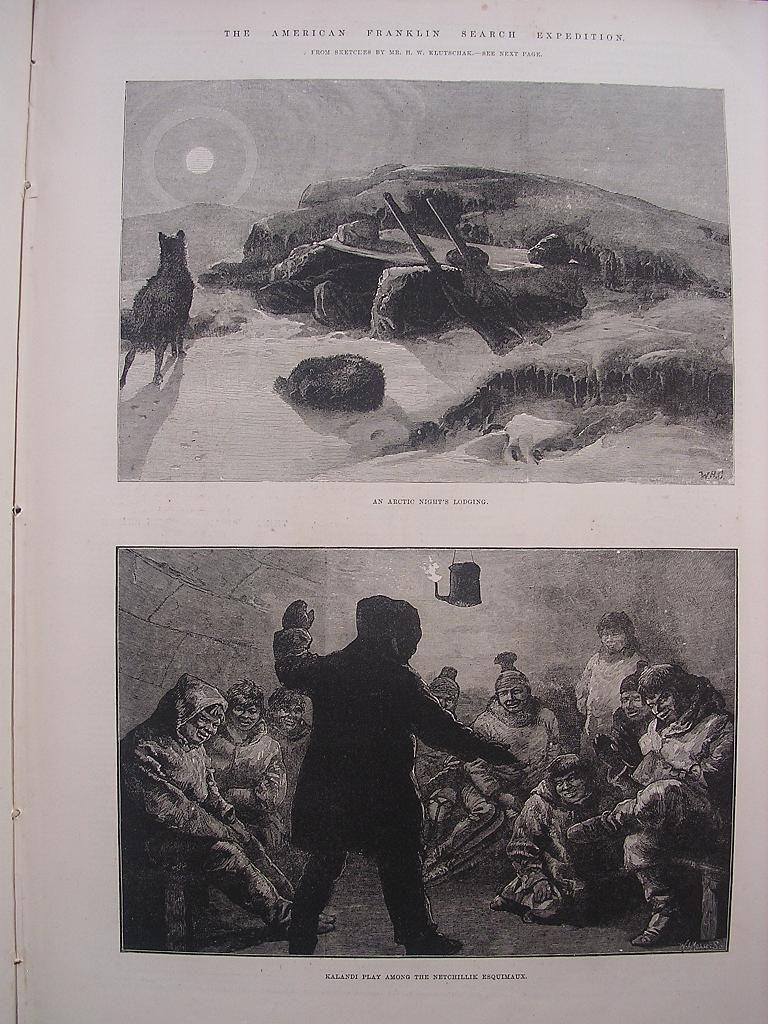 'The American Franklin Search Expedition' - Illustrated London News Feb. 26 1881