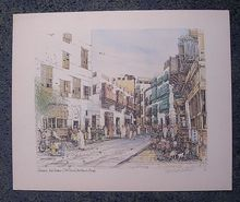SPENCER W. TART. Limited Edition Print 'Jeddah Ash Sham - Northern Area