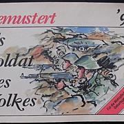 "GDR - East Germany Propaganda Booklet ""GEMUSTERT"" 1990"