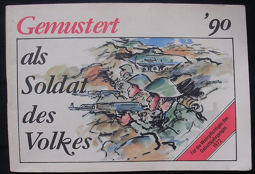"GDR - East Germany Propaganda Booklet ""GEMUSTERT"" 1990"