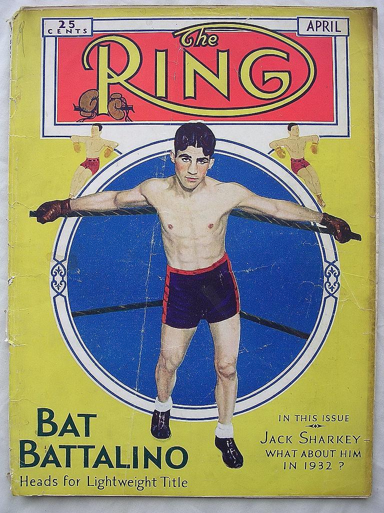 RARE Vintage 'The RING' Magazine VOL. X1 April 1932