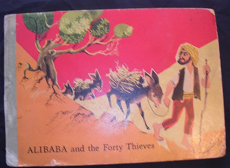 1960 Pop-Up Book ALIBABA & The Forty Thieves
