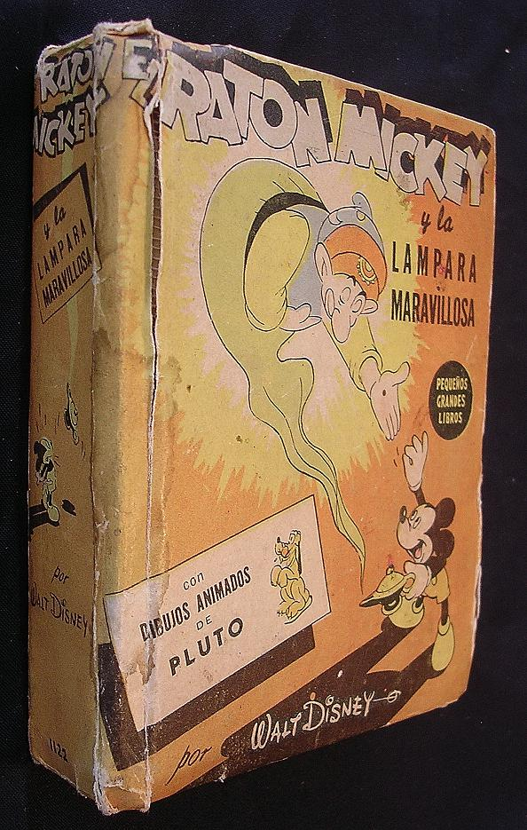 Vintage 1948 Mickey Mouse Book 'EL RATON Mickey' Published in Argentina