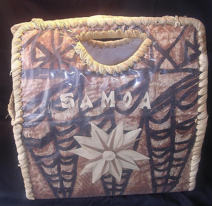 Stylish Tapa Cloth Bag Fom Samoa